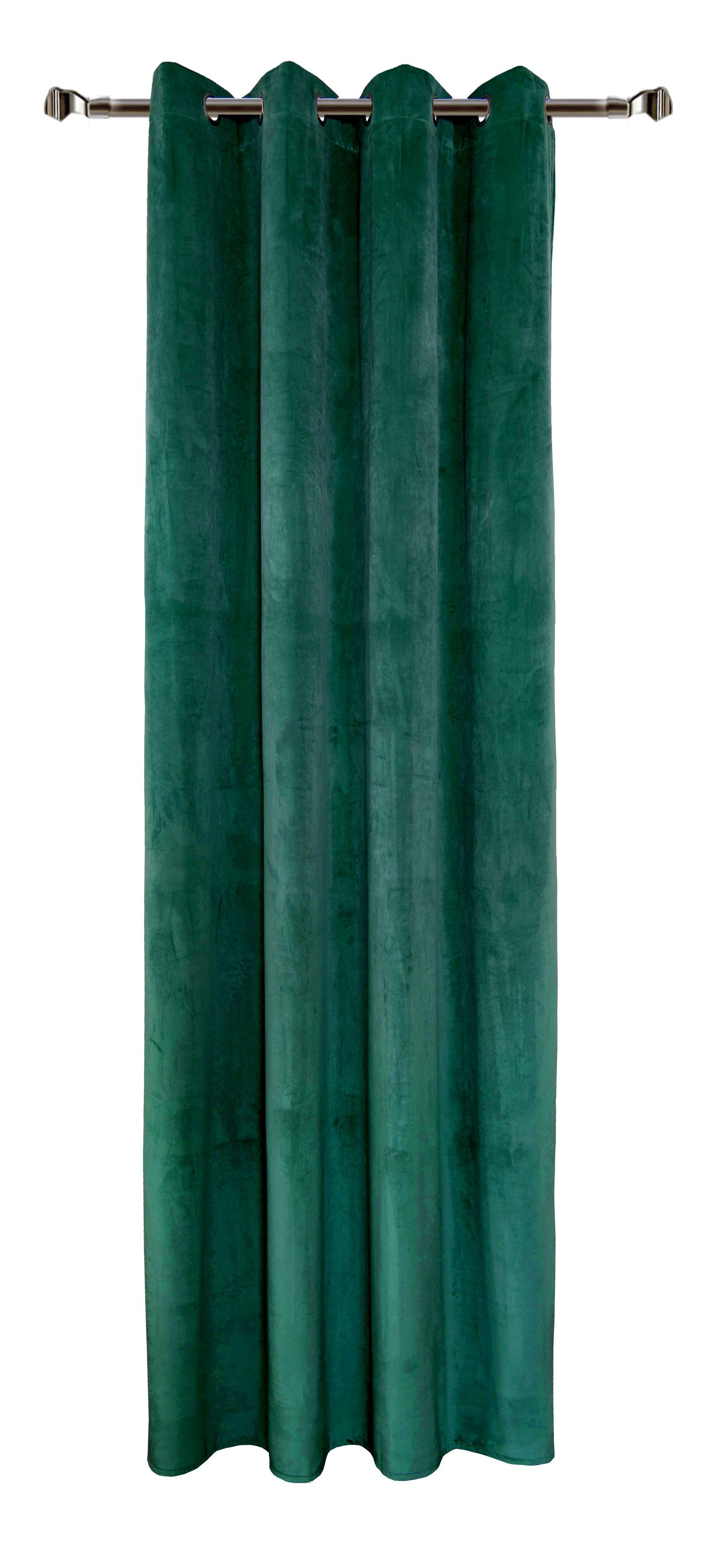 Draperie Home RM-MJ11-93 Dark Green 140 x 270 cm 1 bucata