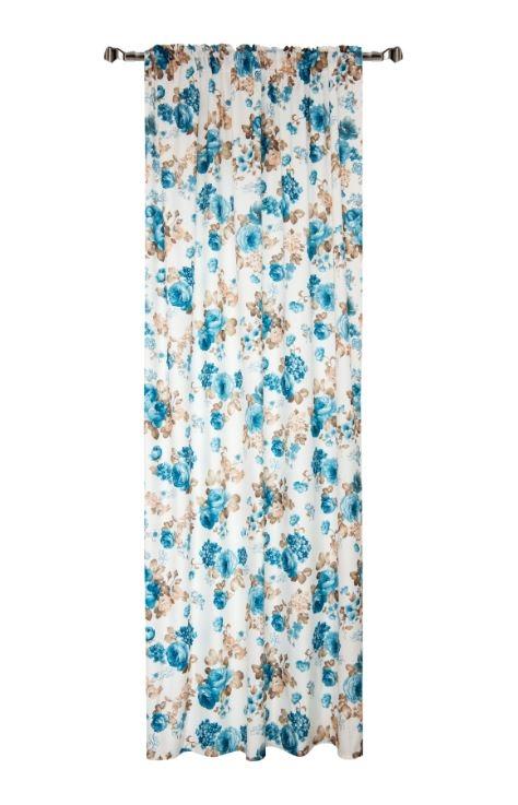 Draperie Home RM-TEY1154-2, Flowers 140 x 270 cm, 1 bucata