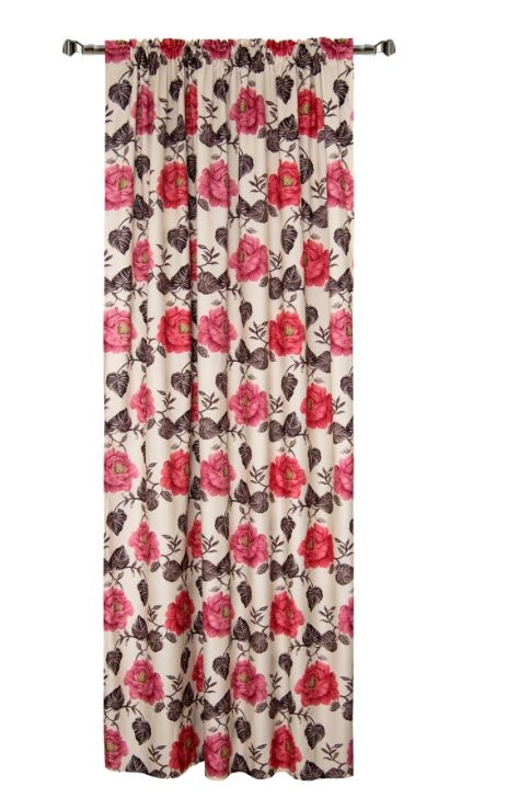 Draperie Home RM-TEY1240-1 Flowers 140 x 270 cm 1 bucata