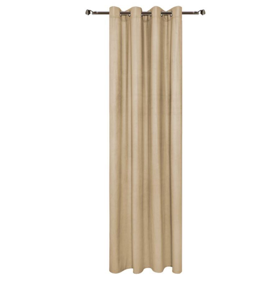 Draperie Home RM-TEY2353-2 Beige 140 x 270 cm 1 bucata