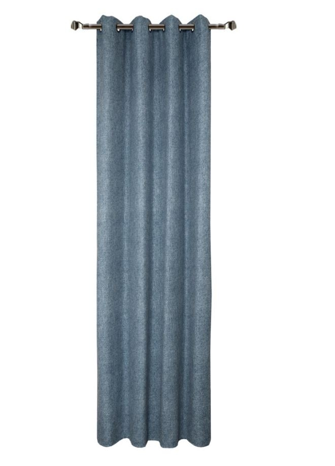 Draperie Home RM-YF955-13 Dark Blue 140 x 270 cm 1 bucata