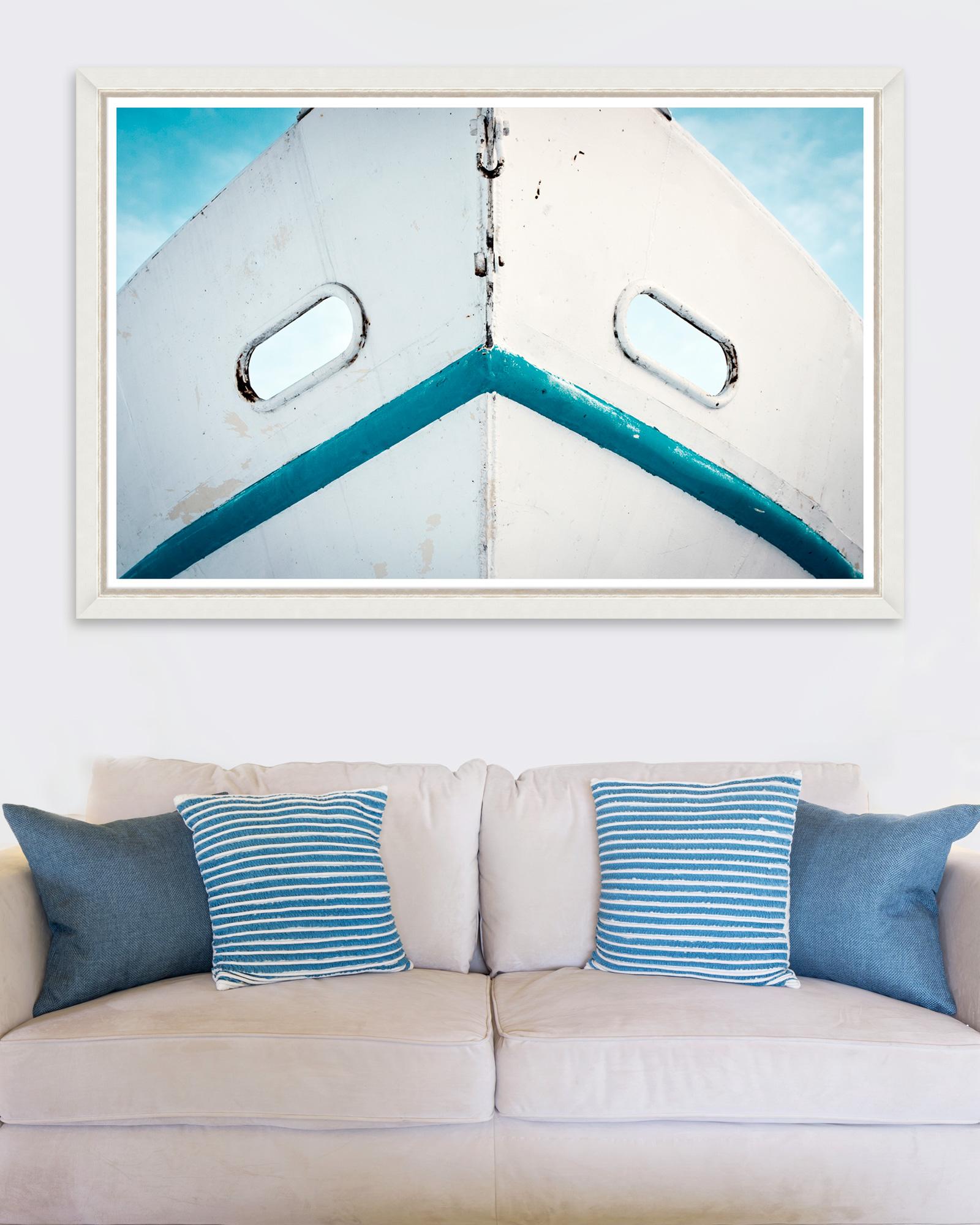 Tablou Framed Art Dirty White Boat