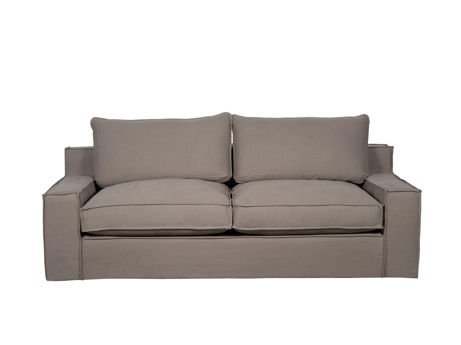 Canapea fixa 3 locuri Capri Brown poza noua