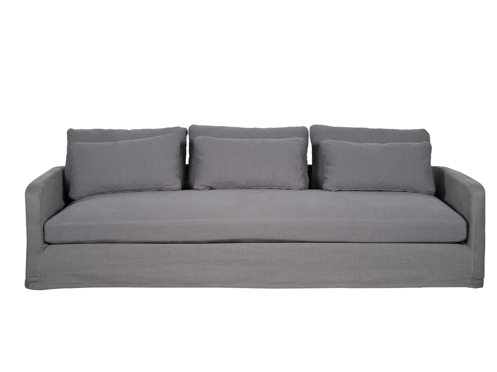 Canapea Fixa 3 Locuri Nadia Blue Grey