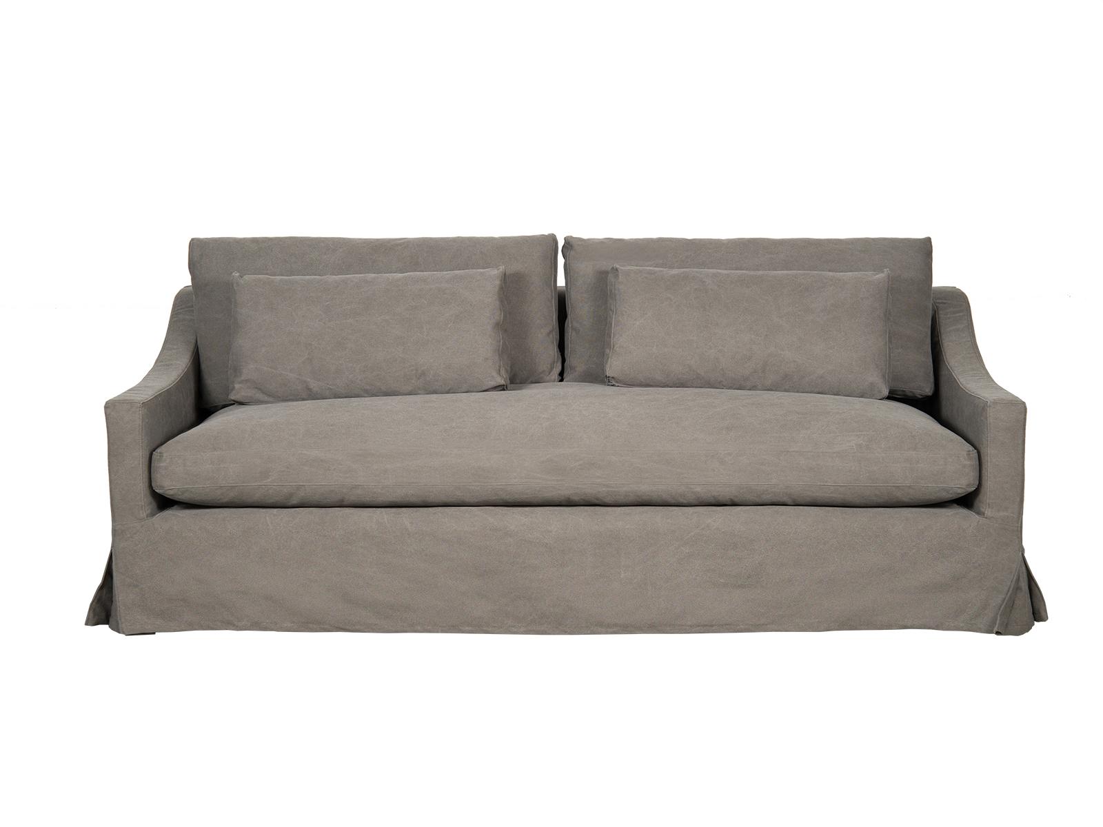 Canapea fixa 3,5 locuri Claire Dark Grey