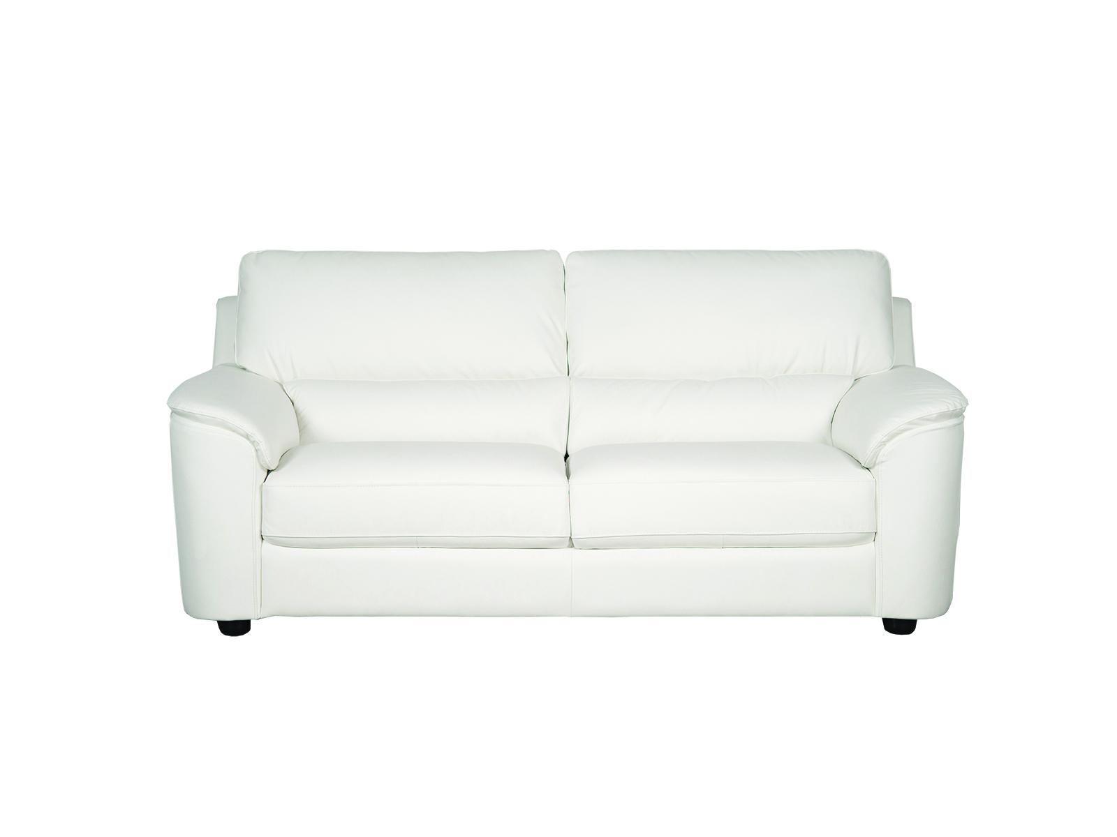 Canapea fixa 3 locuri Catrina White imagine