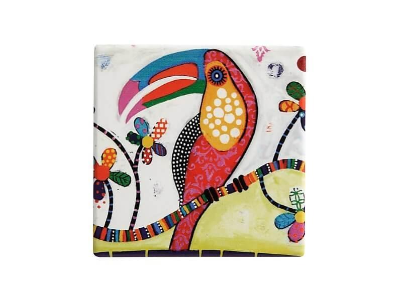 Set 6 coastere Tango, Ceramica, Smile Style, 9 cm