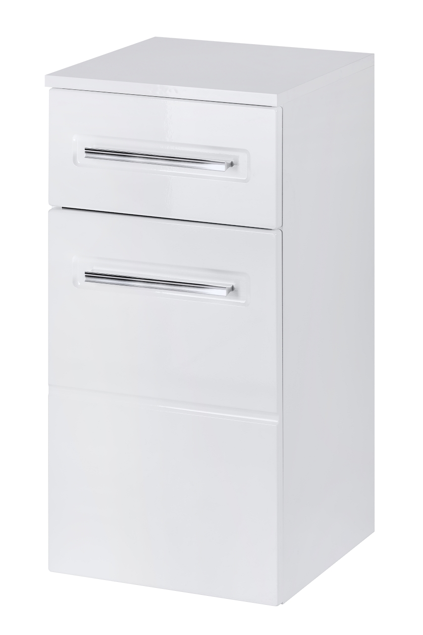 Dulap baie cu 1 usa si 1 sertar, Active, l35xA33xH67 cm imagine