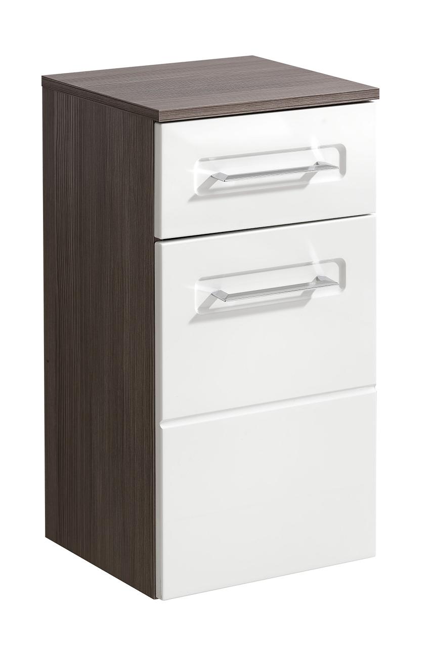 Dulap baie cu 1 usa si 1 sertar, Cosmo II, l35xA33xH67 cm