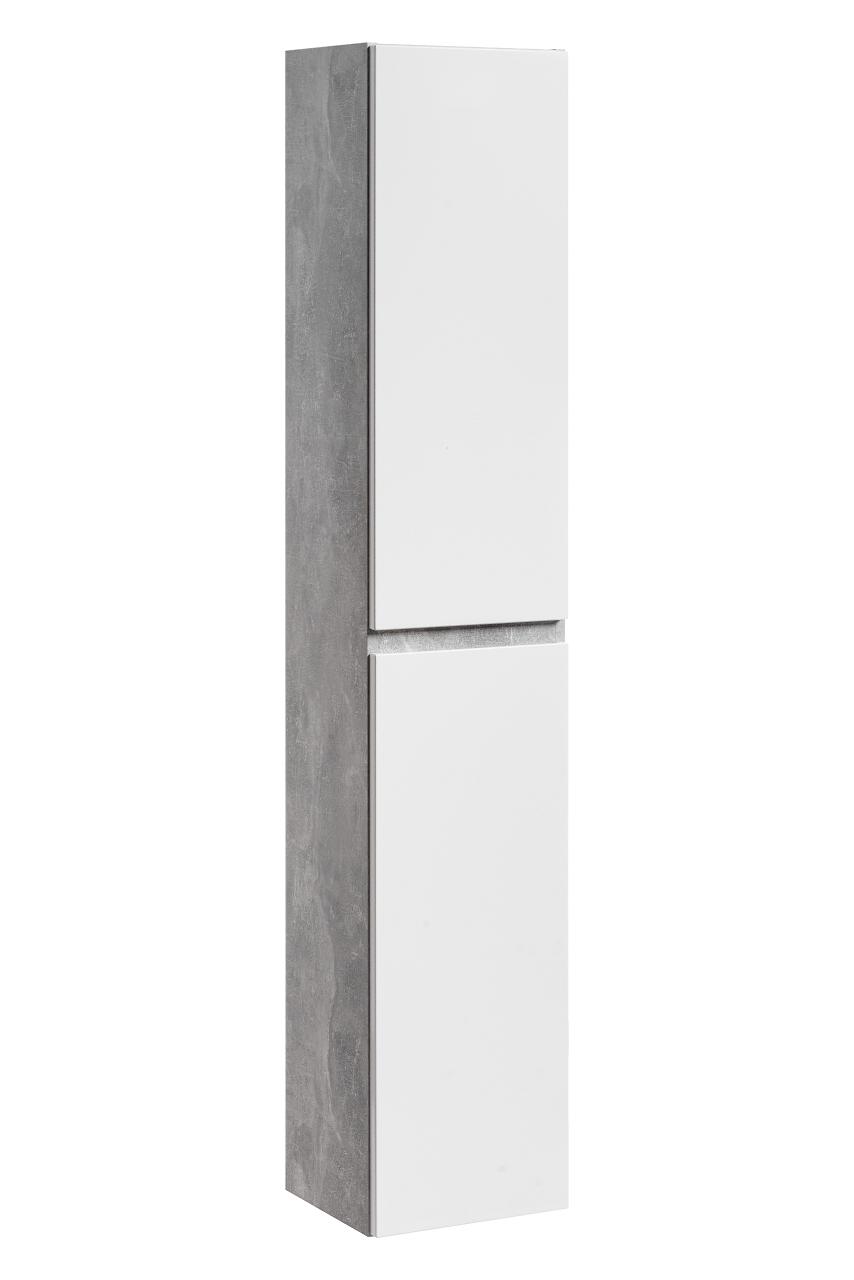 Dulap baie inalt cu 2 usi Atelier l30xA27xH160 cm