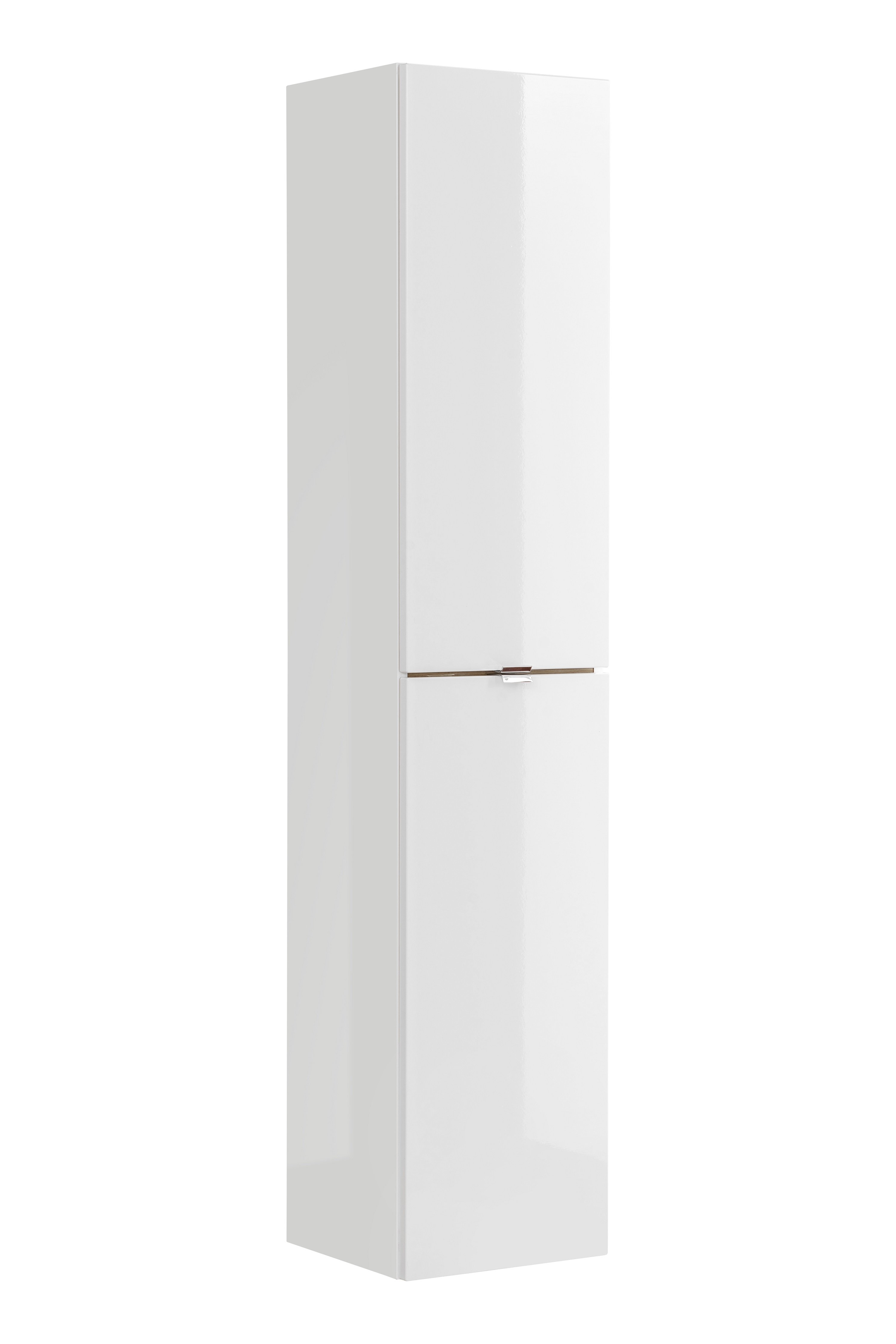Dulap baie inalt cu 2 usi, Capri White, l35xA33xH170 cm imagine