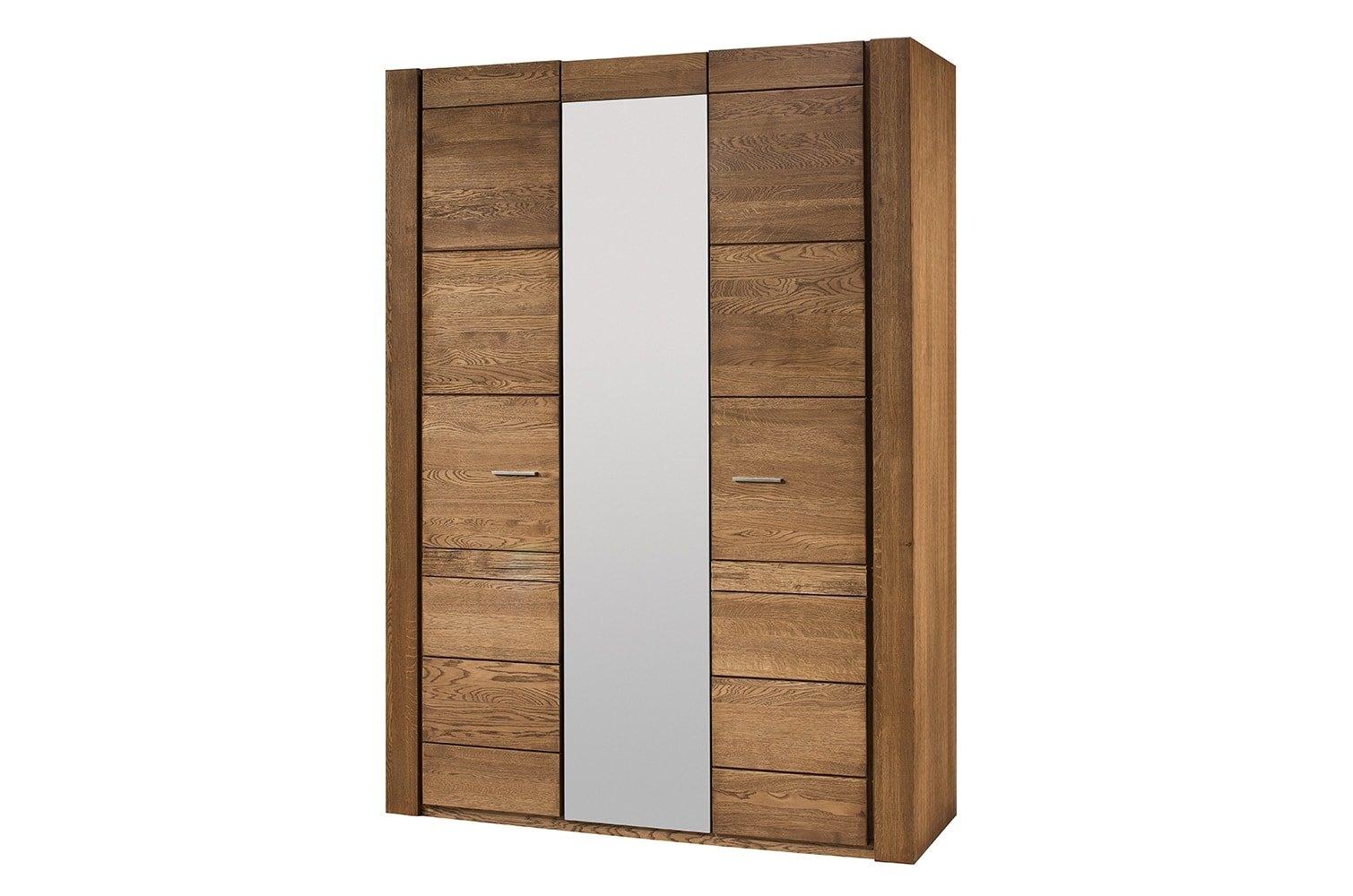 Dulap cu 3 usi si oglinda Velvet 73, l160xA60xH225 cm
