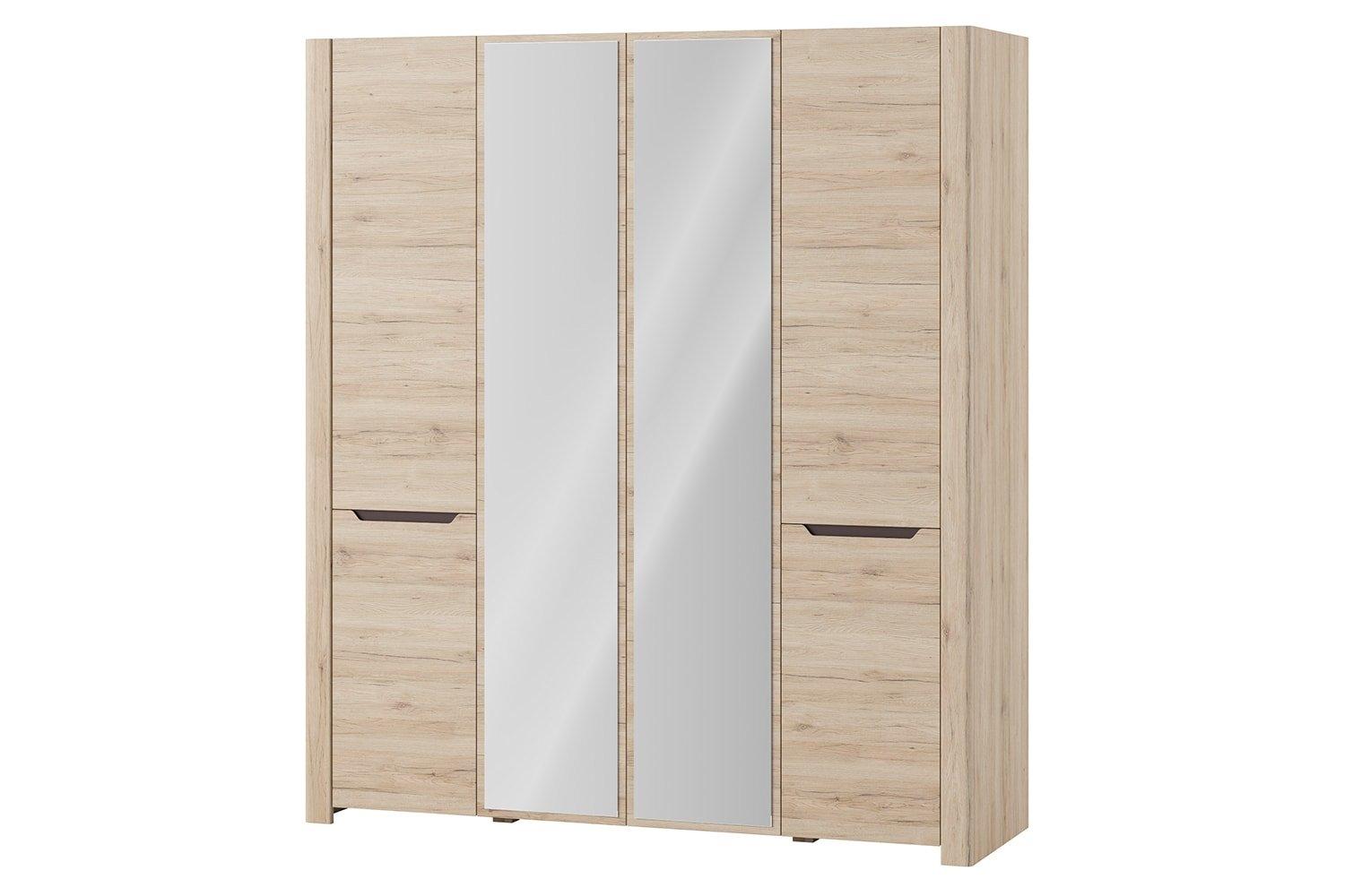 Dulap cu 4 usi si oglinda Desjo 07 l181xA58xH207 cm
