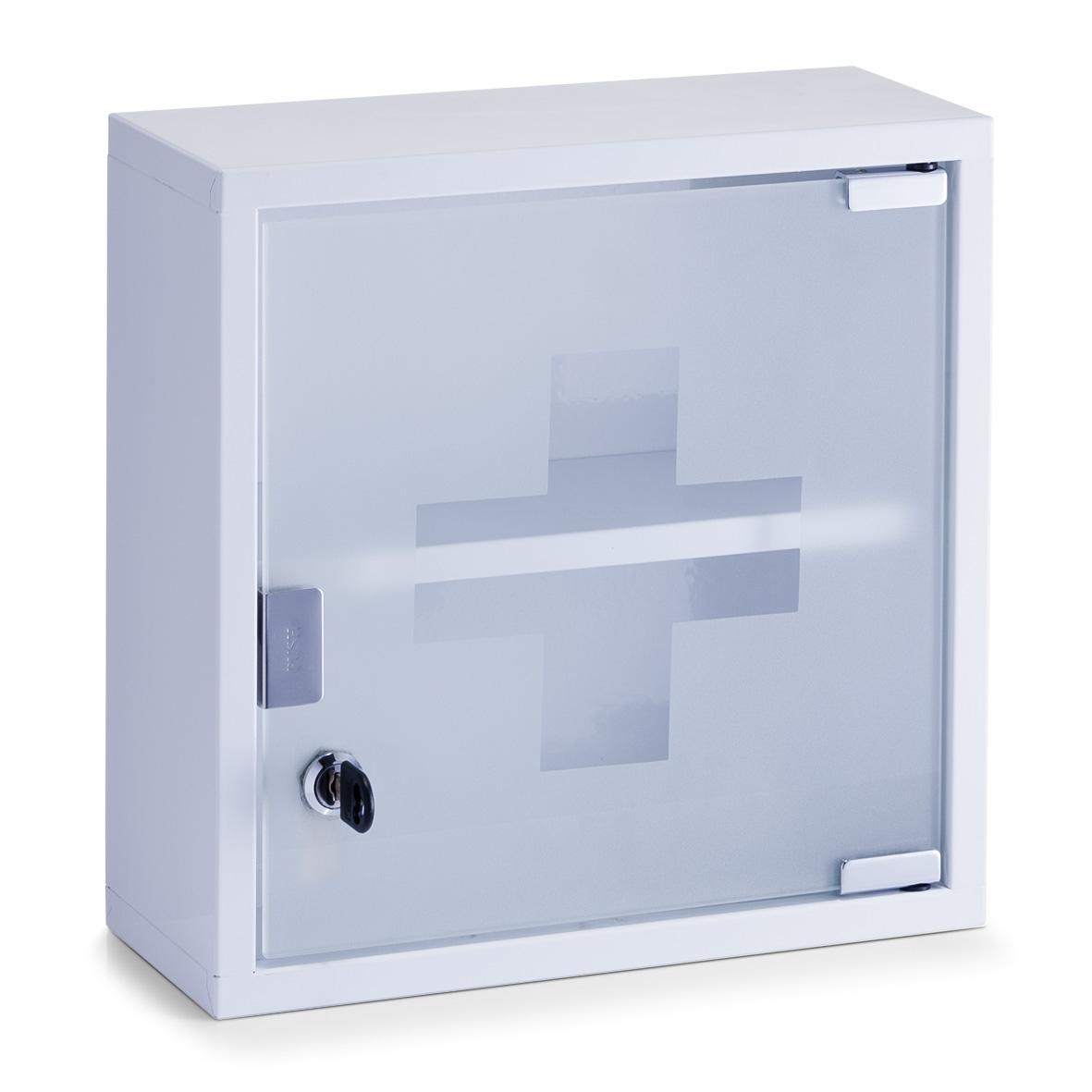 Dulap pentru medicamente Metal White l30xA12xH30 cm
