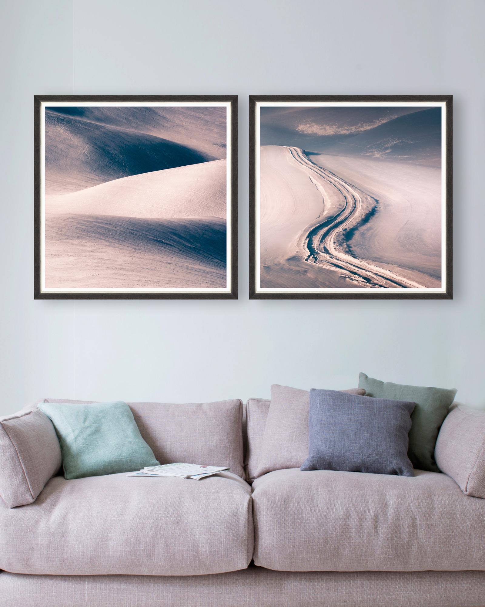 Tablou 2 piese Framed Art Dunes imagine