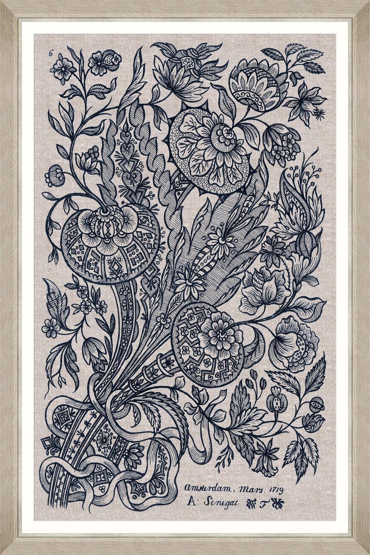 Tablou Framed Art Dutch Embroidery II imagine