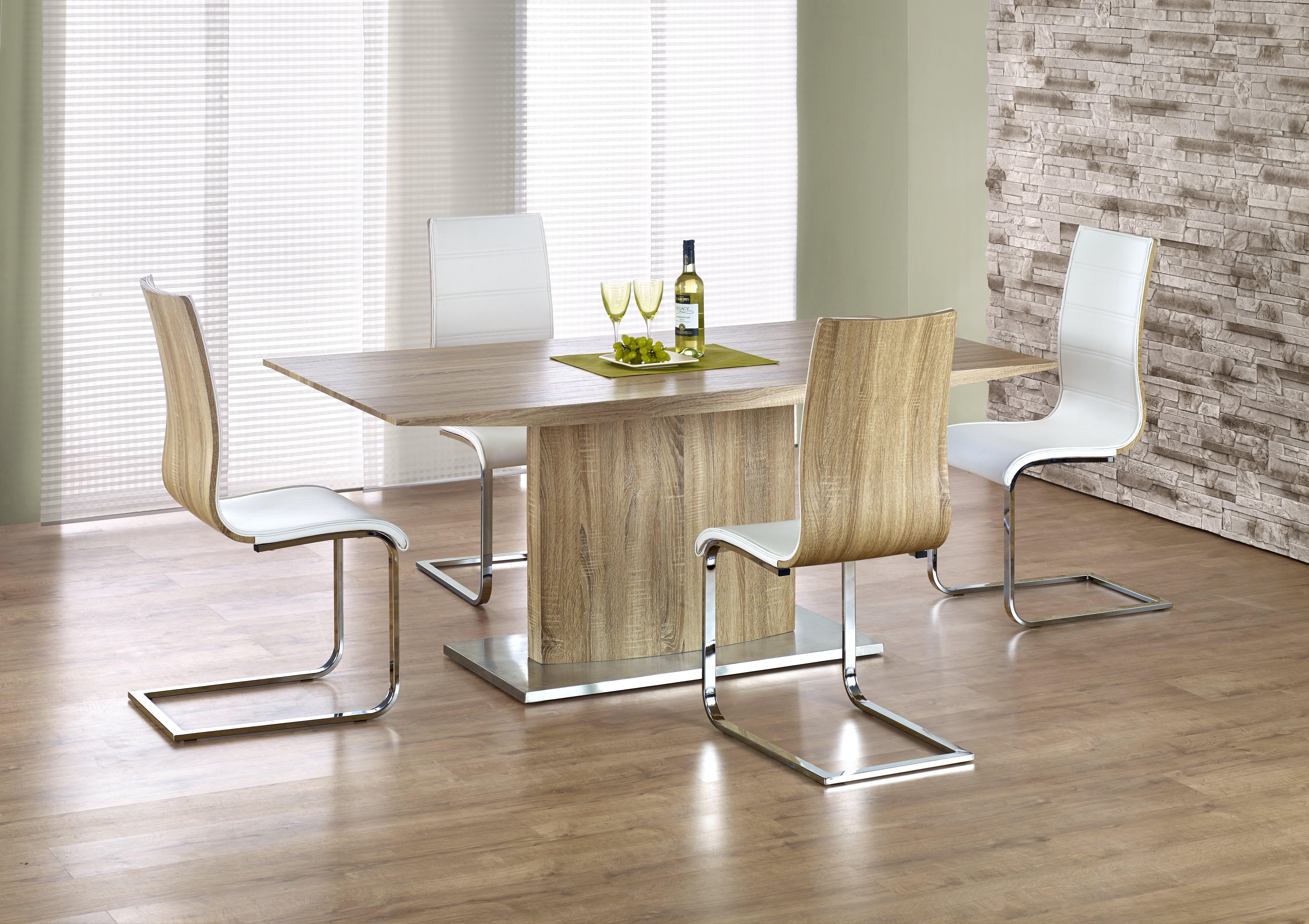 Set Masa din MDF Elias Oak + 4 scaune K104 poza