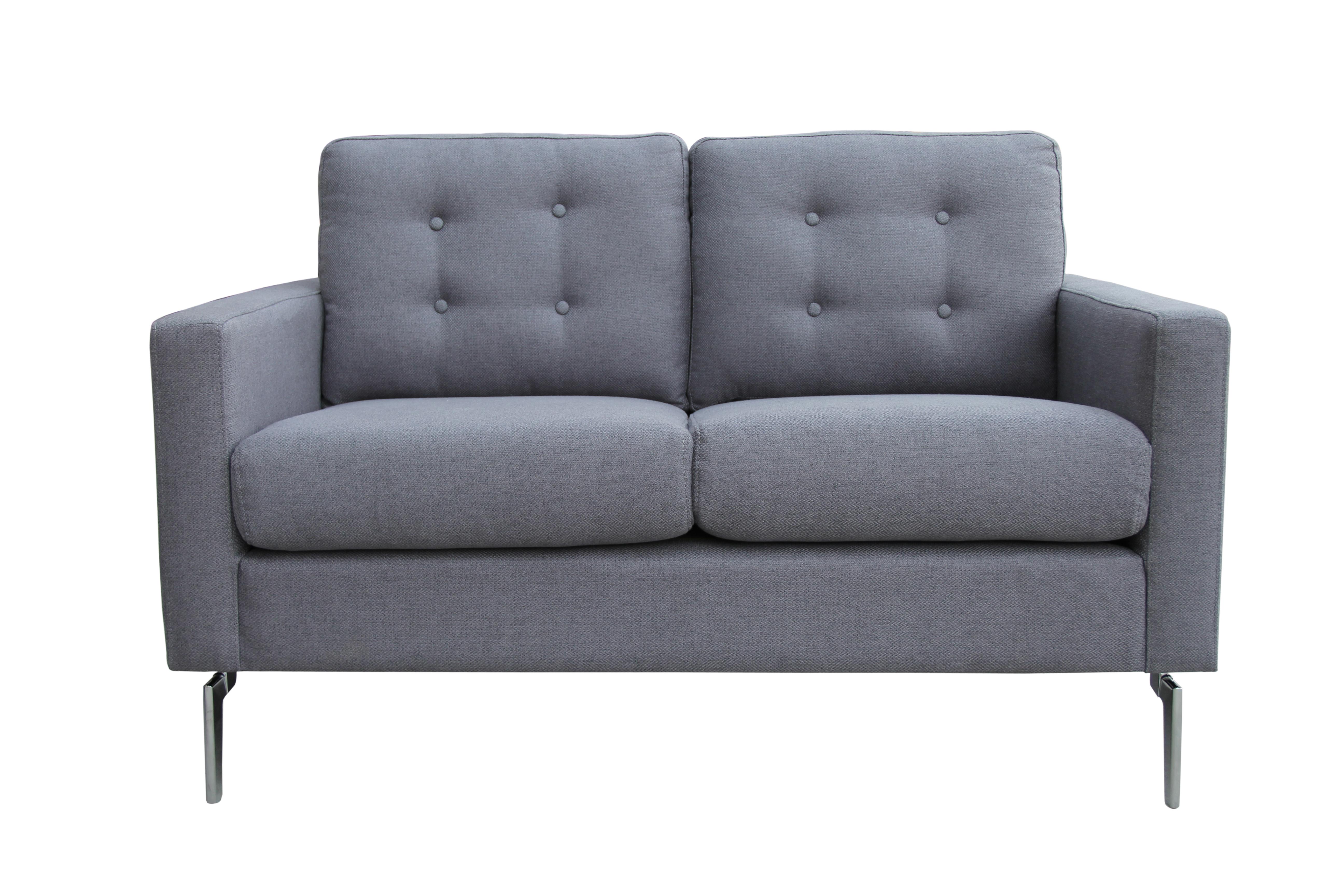 Canapea fixa 2 locuri Eliza Grey