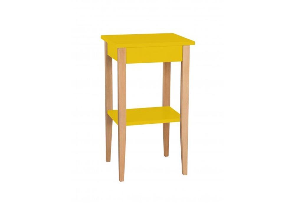Noptiera din MDF Entlik Yellow l40xA35xH70 cm