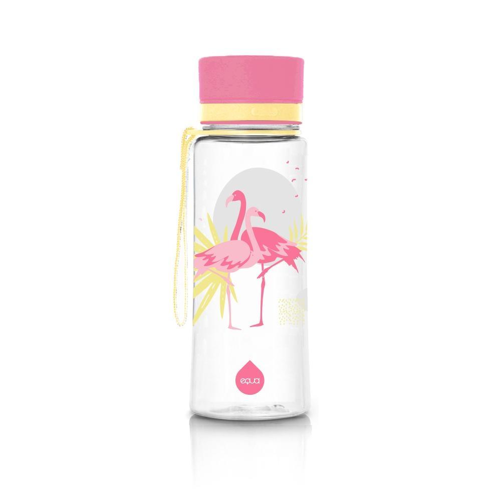 Sticla pentru apa Equa Flamingo- 600 ml