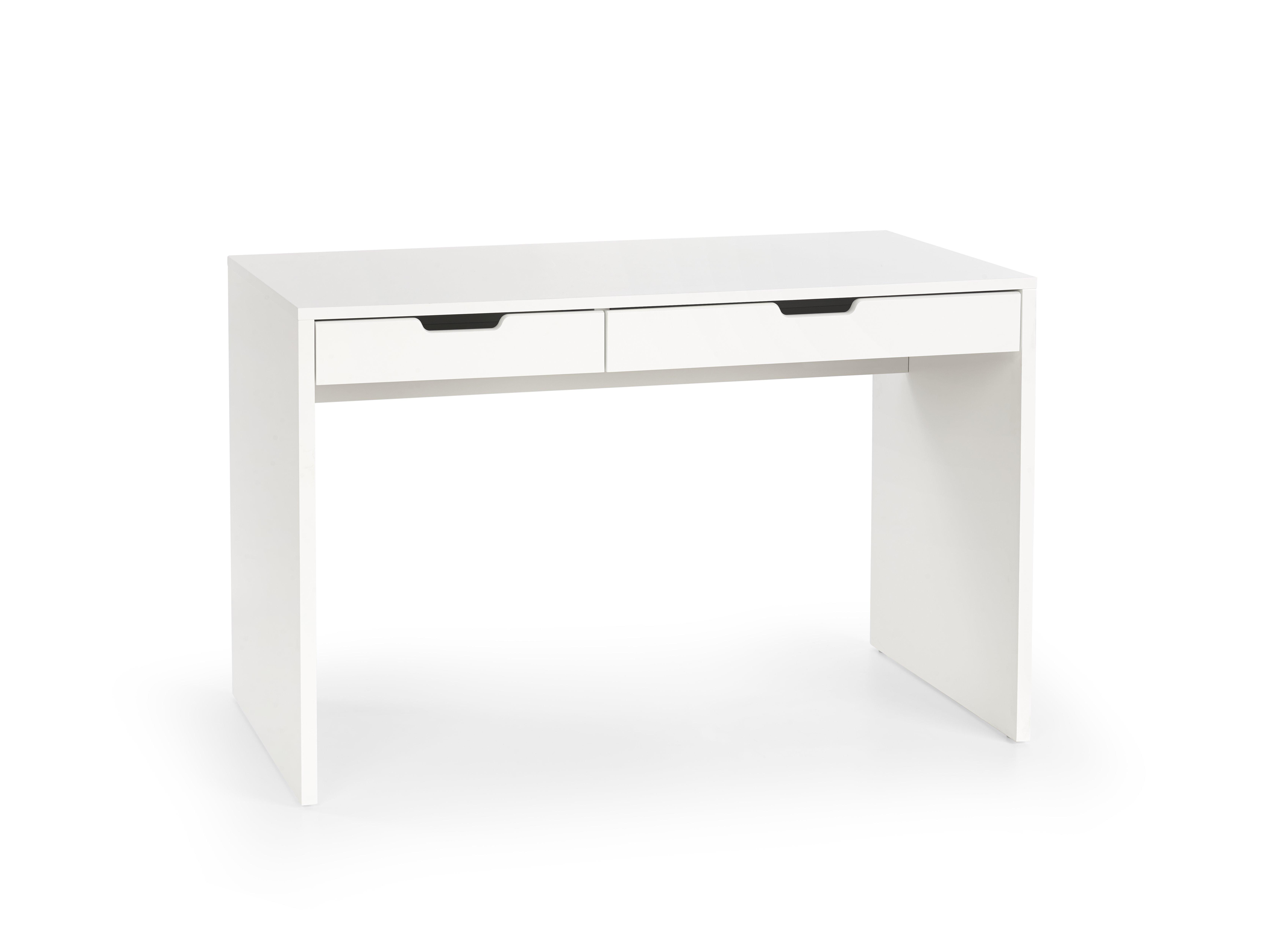Masa de birou din MDF Eskimo B-1 White, L120xl60xh76 cm imagine