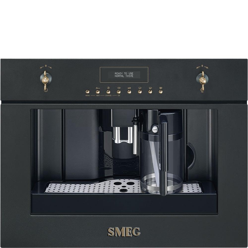 Espressor incorporabil automat CMS8451A Antracit 60x45 cm Coloniale SMEG