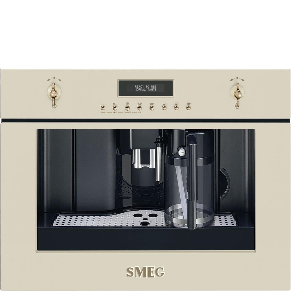 Espressor incorporabil automat CMS8451P Crem 60x45 cm Coloniale SMEG
