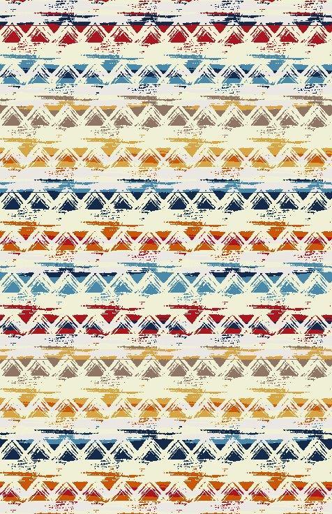Covor Ethnic Et 015 A Multicolor, Tesut mecanic