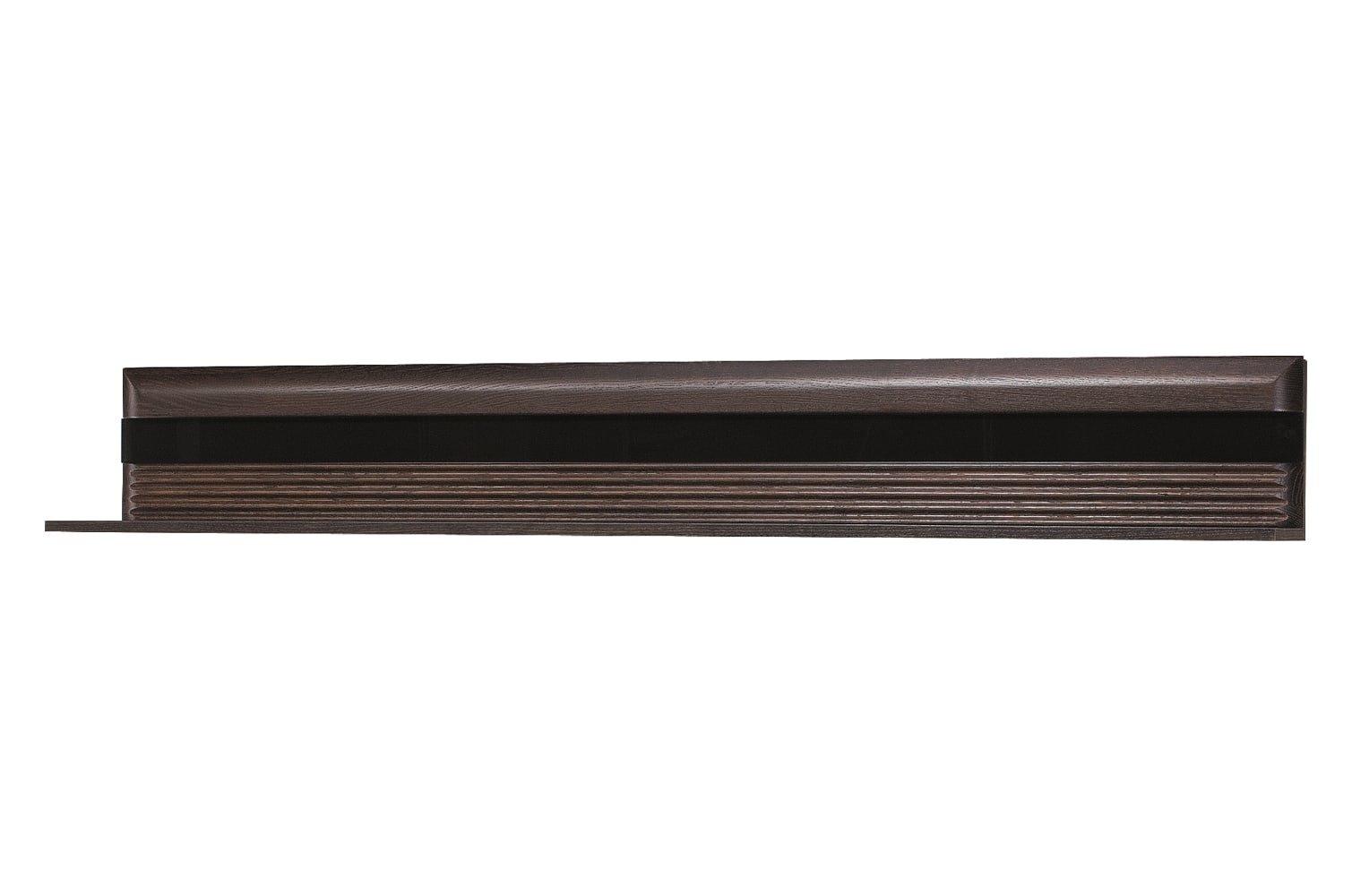 Etajera Porti 35 Chocolate Oak L160xl25xh23 cm