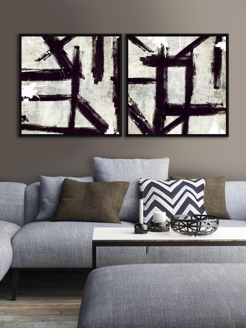 Tablou 2 piese Framed Art Evolution I & II