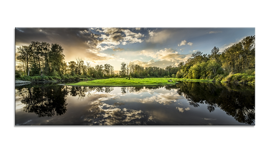 Tablou Sticla Glasspik Nature 50x125 cm
