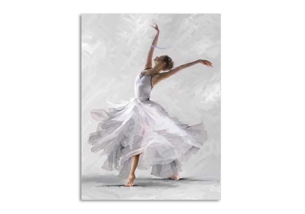 Tablou Canvas Waterdance Dancer II 60x80 cm