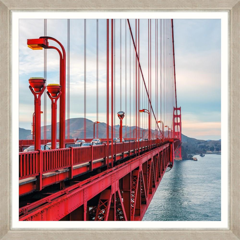 Tablou Framed Art Famous Golden Gate I