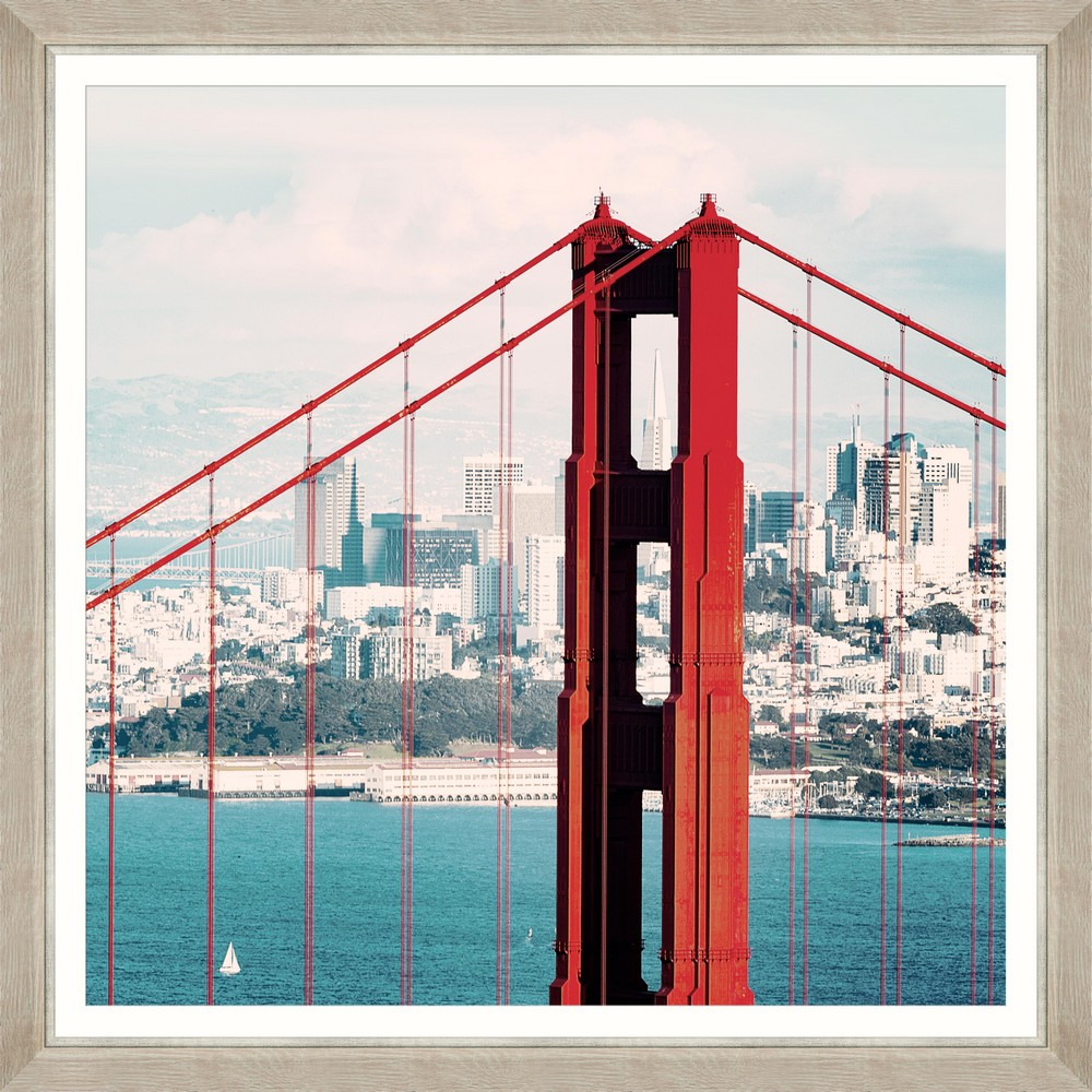 Tablou Framed Art Famous Golden Gate II