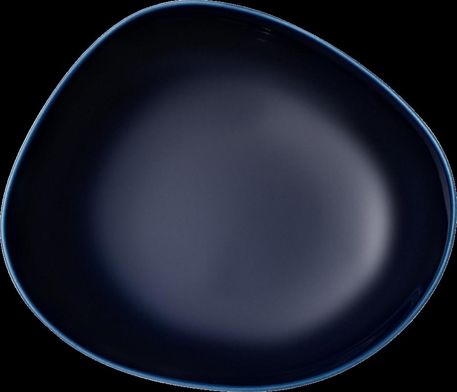 Farfurie adanca din portelan, Organic Bleumarin, 20 cm, Villeroy & Boch