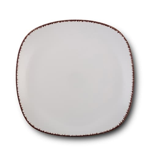 Farfurie desert din ceramica, White Sugar Alb, 19 cm