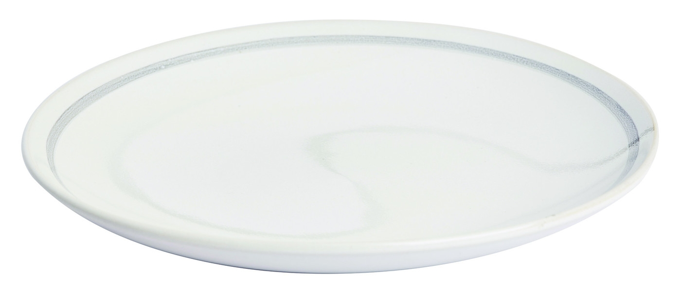 Set farfurii desert Patine Stoneware White O 21 cm Jamie Oliver 4 piese