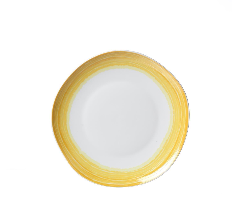 Set farfurii desert Sunrise Yellow Flirt O 20 cm 6 piese
