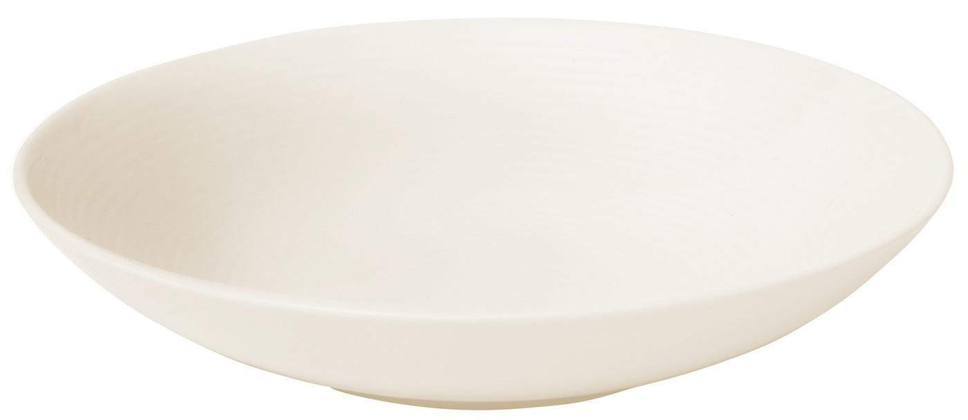 Farfurie pentru paste, Ridges Cream, Ø 23 cm, Jamie Oliver somproduct.ro