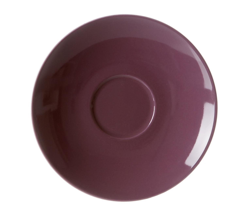 Set farfurioare portelan Doppio Purple Flirt O 16 cm 6 piese