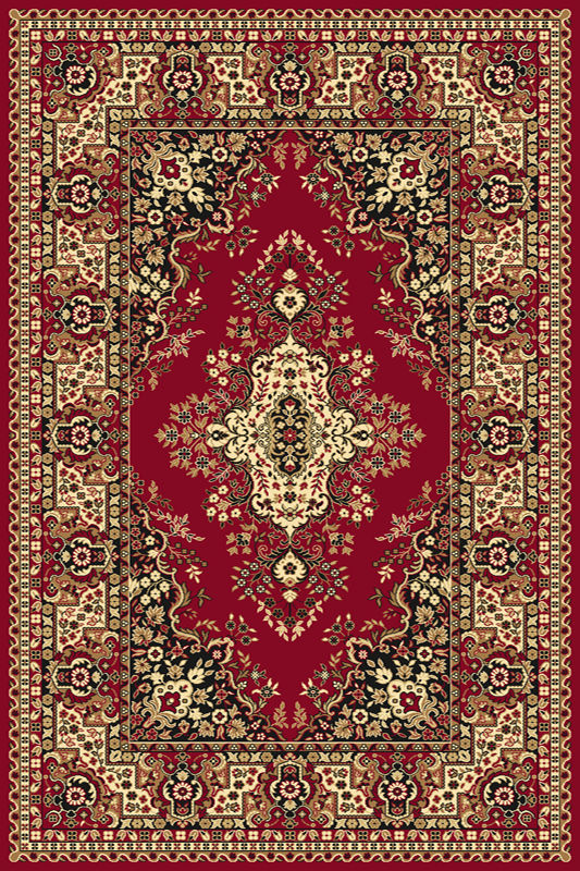 Covor Fatima Dark Red, Wilton