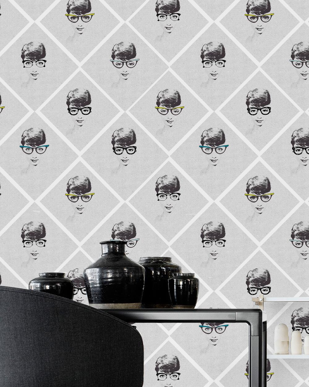 Poza Set Role Tapet Imprimat Digital Female Illusion