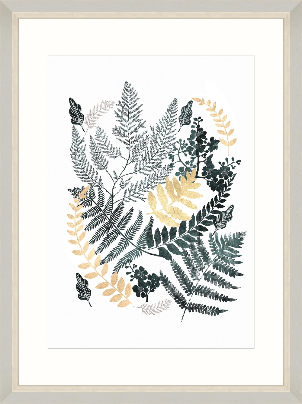 Tablou Framed Art Fern Composition I