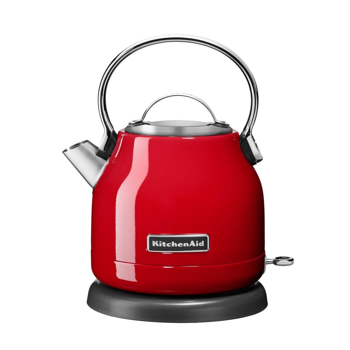 Fierbator electric 1,25 L, 5KEK1222EER, Red, KitchenAid imagine