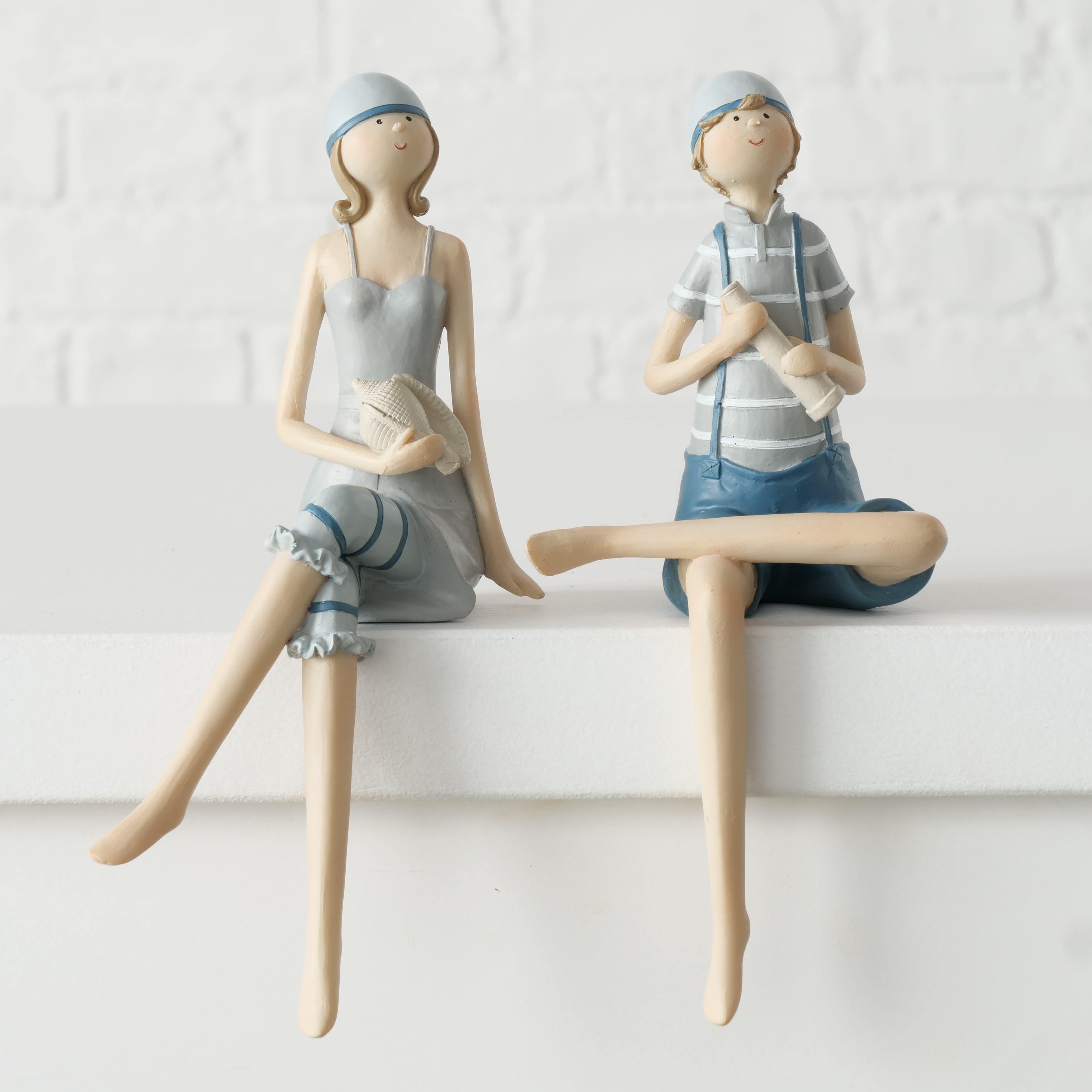 Figurina decorativa din polirasina Lexy Multicolor, Modele Asortate, l9xA9xH20 cm poza