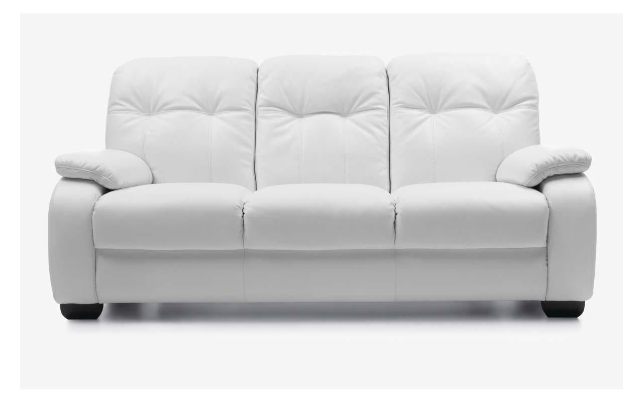 Canapea extensibila Fino White
