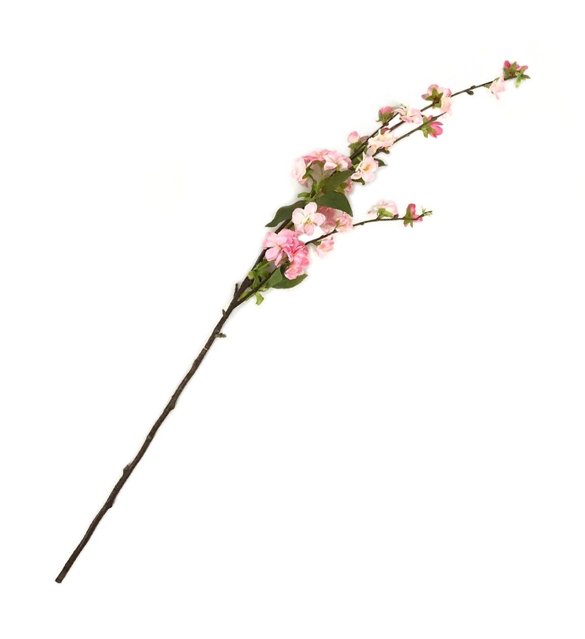 Fir floare artificiala Grace Roz, 88 cm imagine