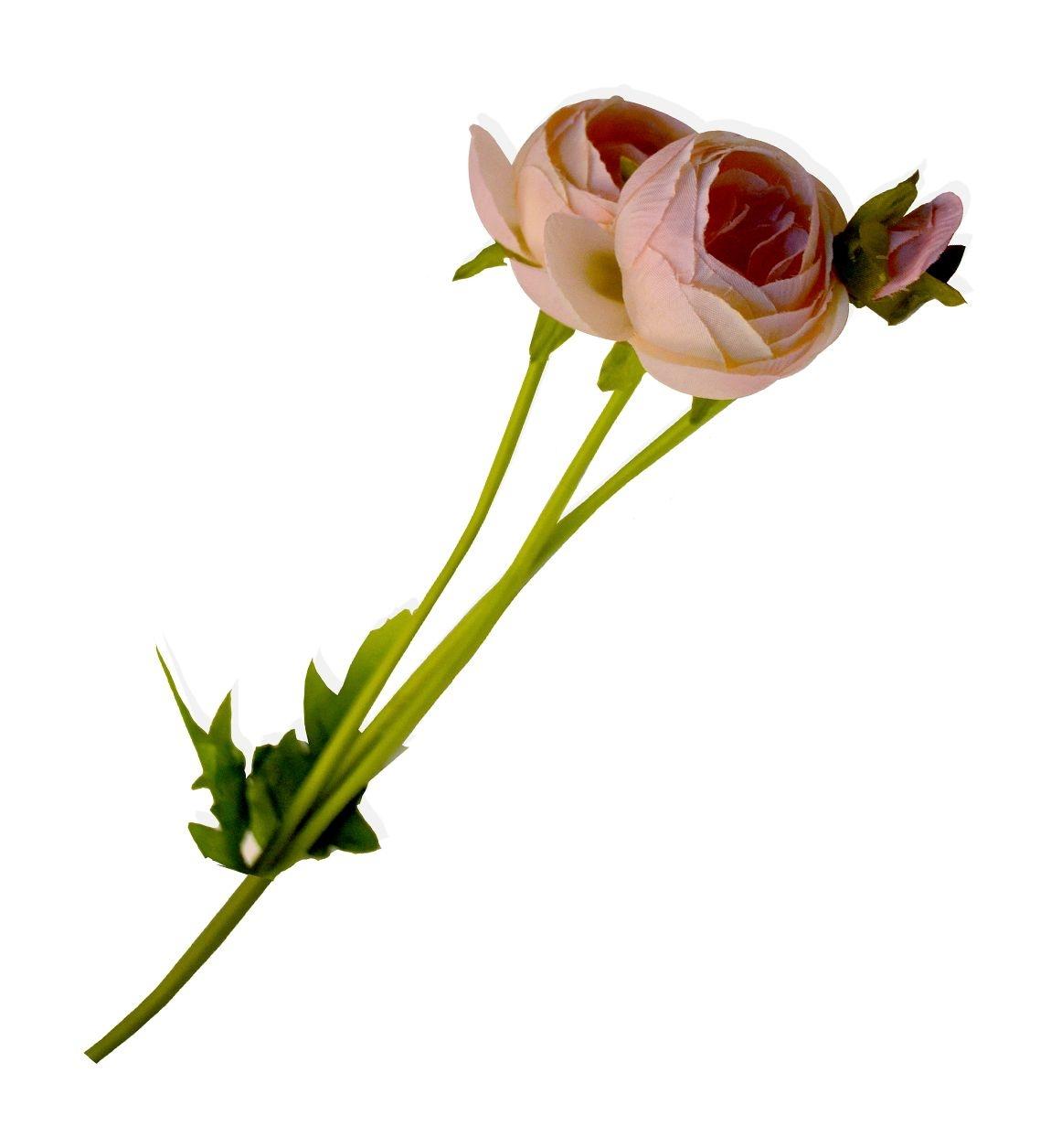 Fir floare artificiala Melaleuca Roz, 45 cm poza