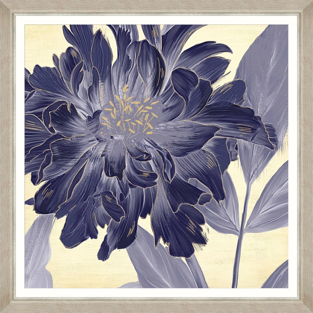 Tablou Framed Art Floral Indigo II