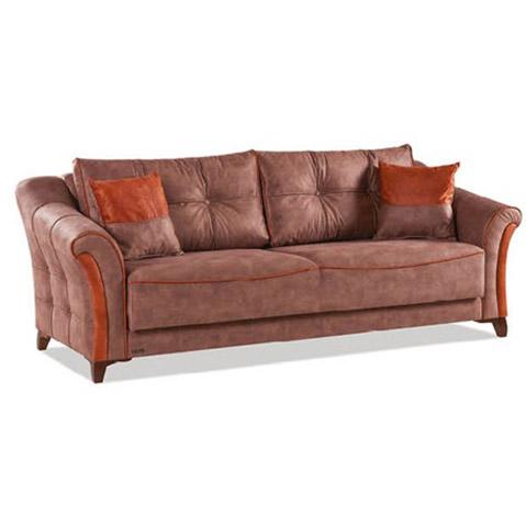 Canapea extensibila 3 locuri Fortuna Dark Brown